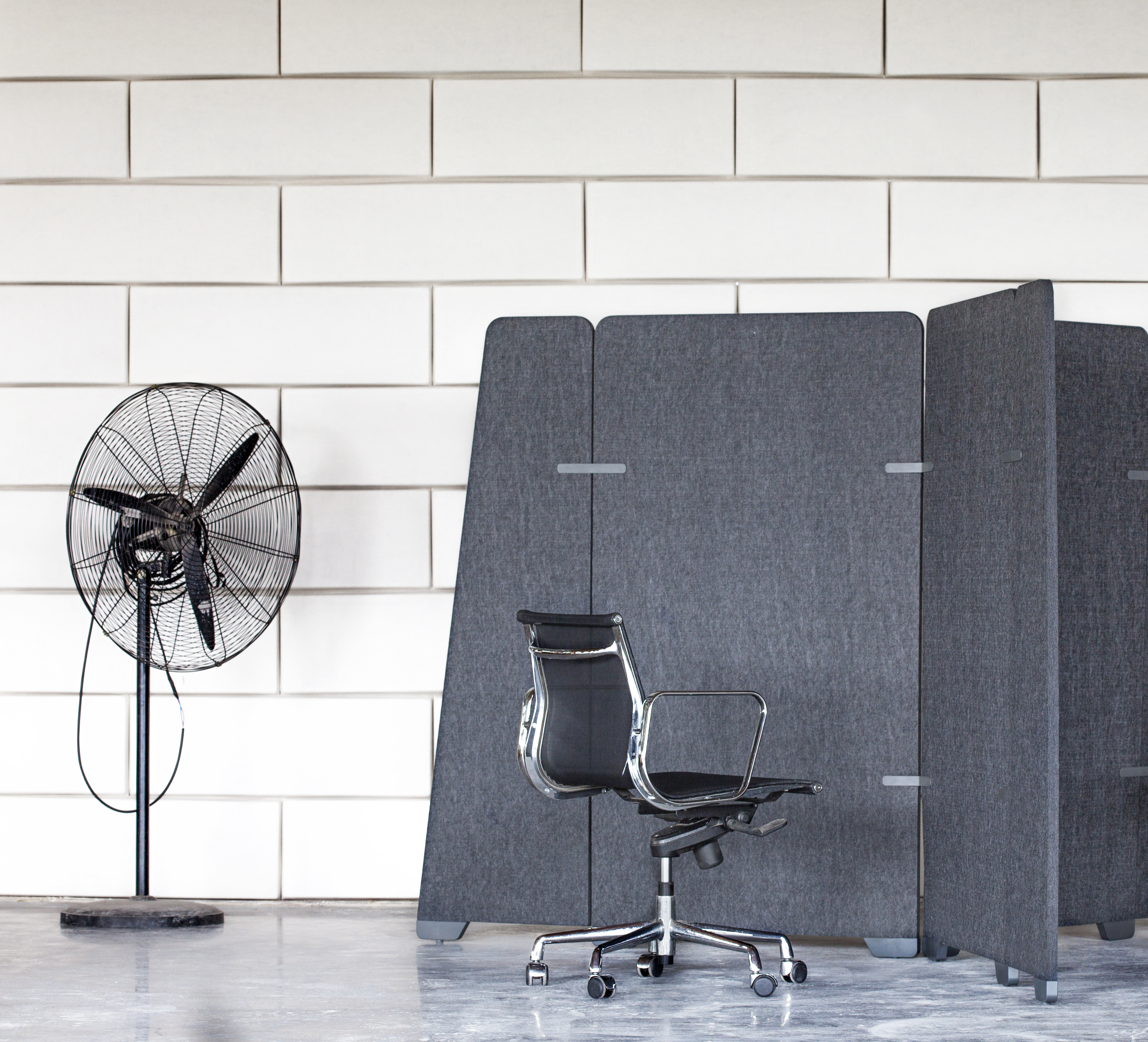 EP Partition Wrap 542 Office dividers Woven Image 1
