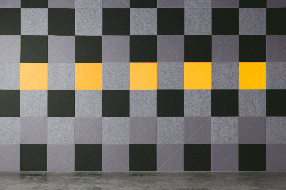 EP Vee Tile 442 444 542 108 wall office Woven Image