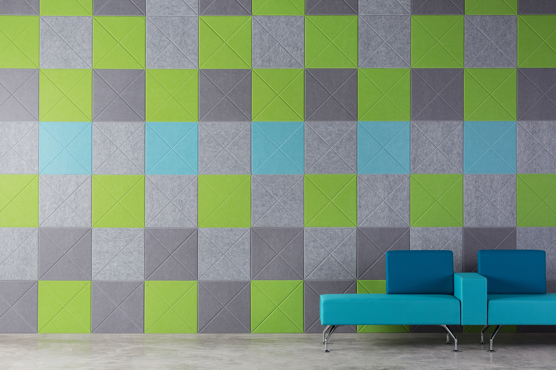 EP Vee Tile 442 444 551 362 wall office Woven Image 3