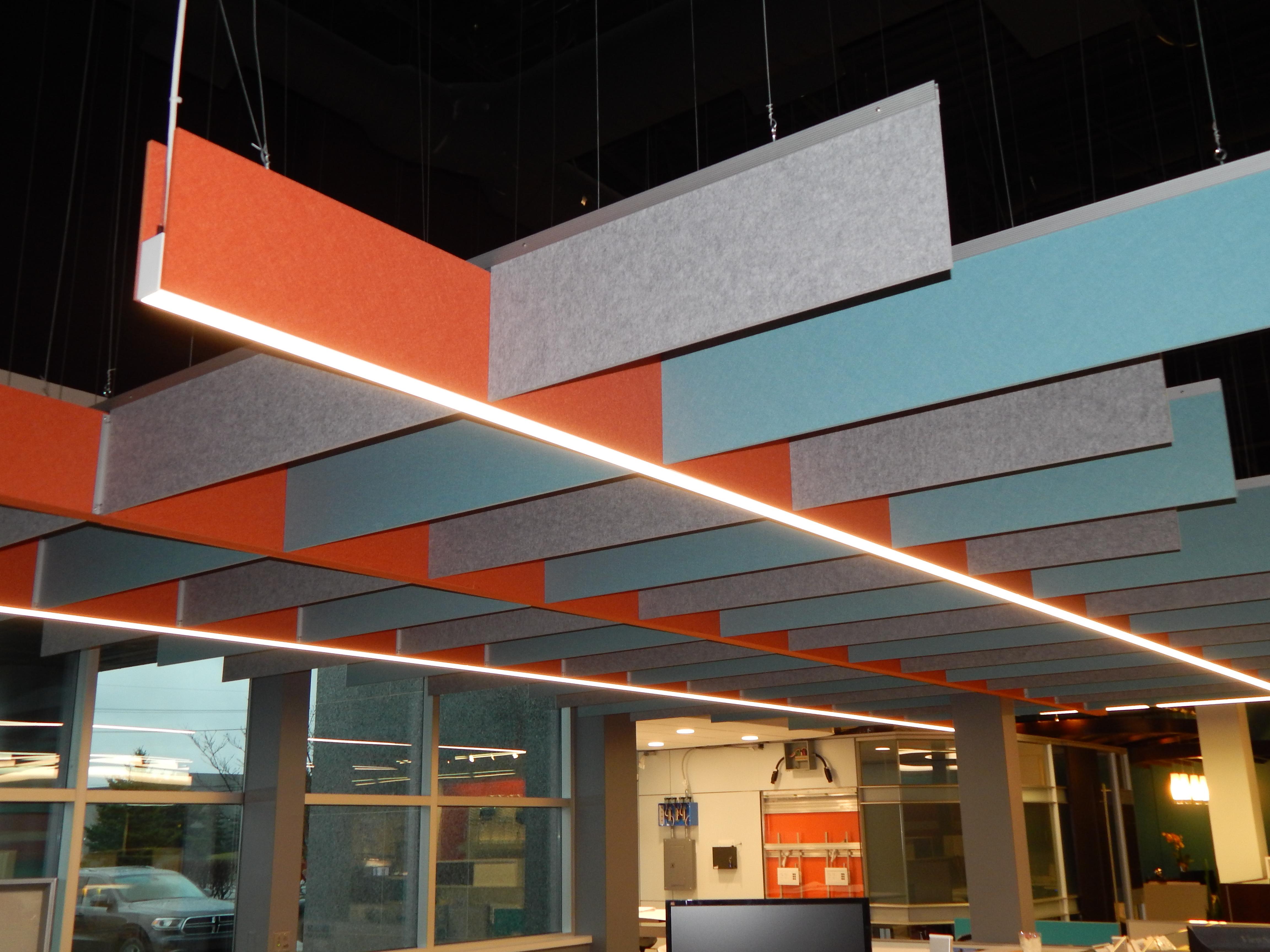 H Baffle 295 442 551 custom ceiling grid American Interiors 5