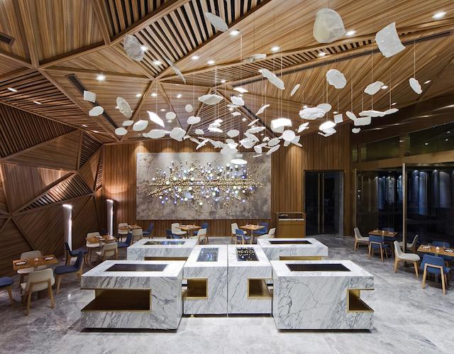 Panorama Designs Chengdus Yue Restaurant 1