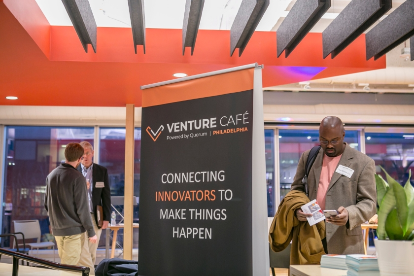 A Venture Into Acoustic Design: Venture Café Philadelphia