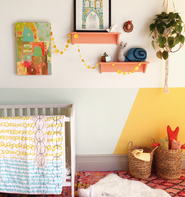 geometric-design-examples-in-a-nursery