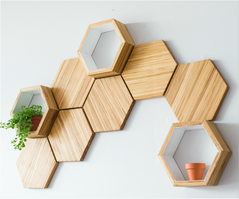 Hex Bamboo Tile 1