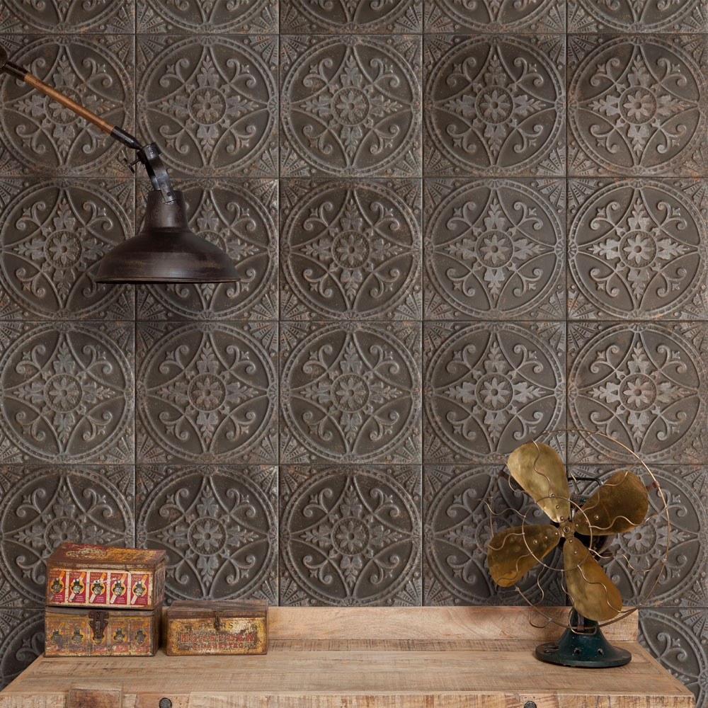 Metallic Panel Tiles