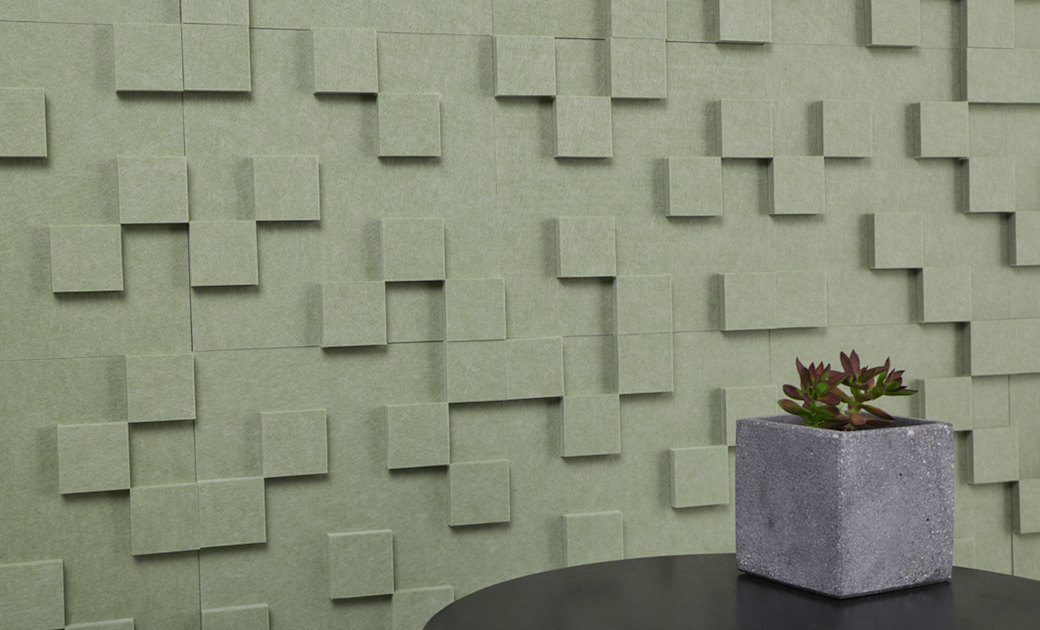 Pixelate your conference room walls with Pixel Topo Tile